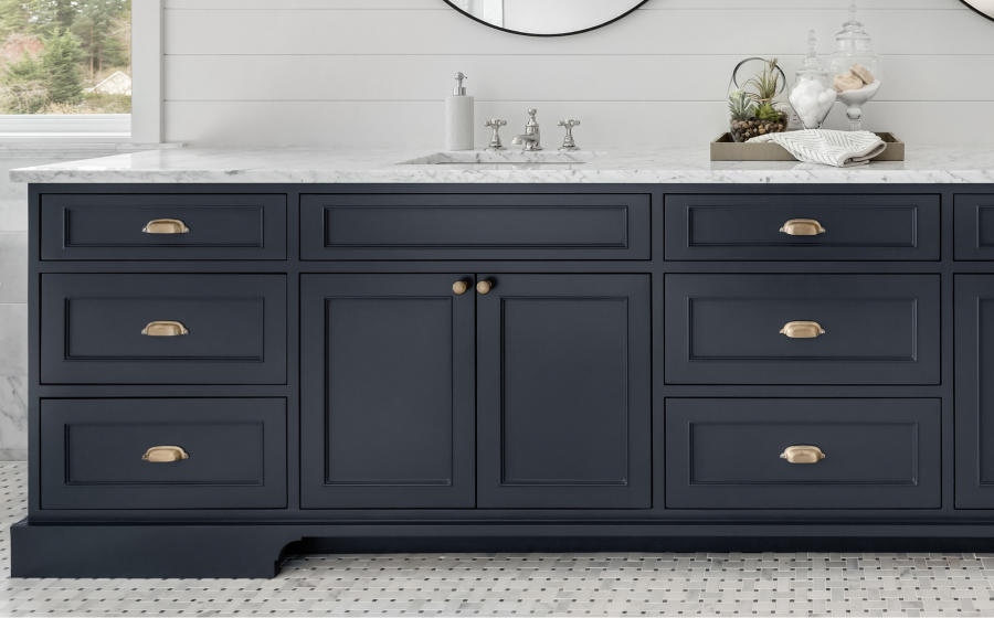 Replace cabinet and drawer hardware