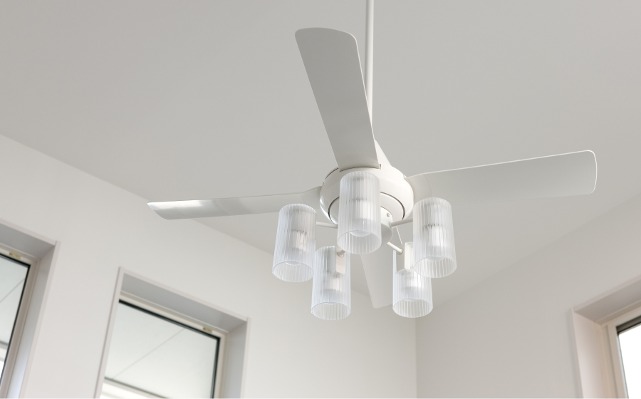 Replace or install a ceiling fan