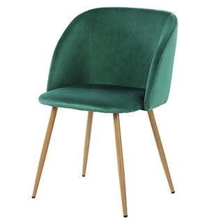 Upholstered Armchair Mid Century Modern Chair